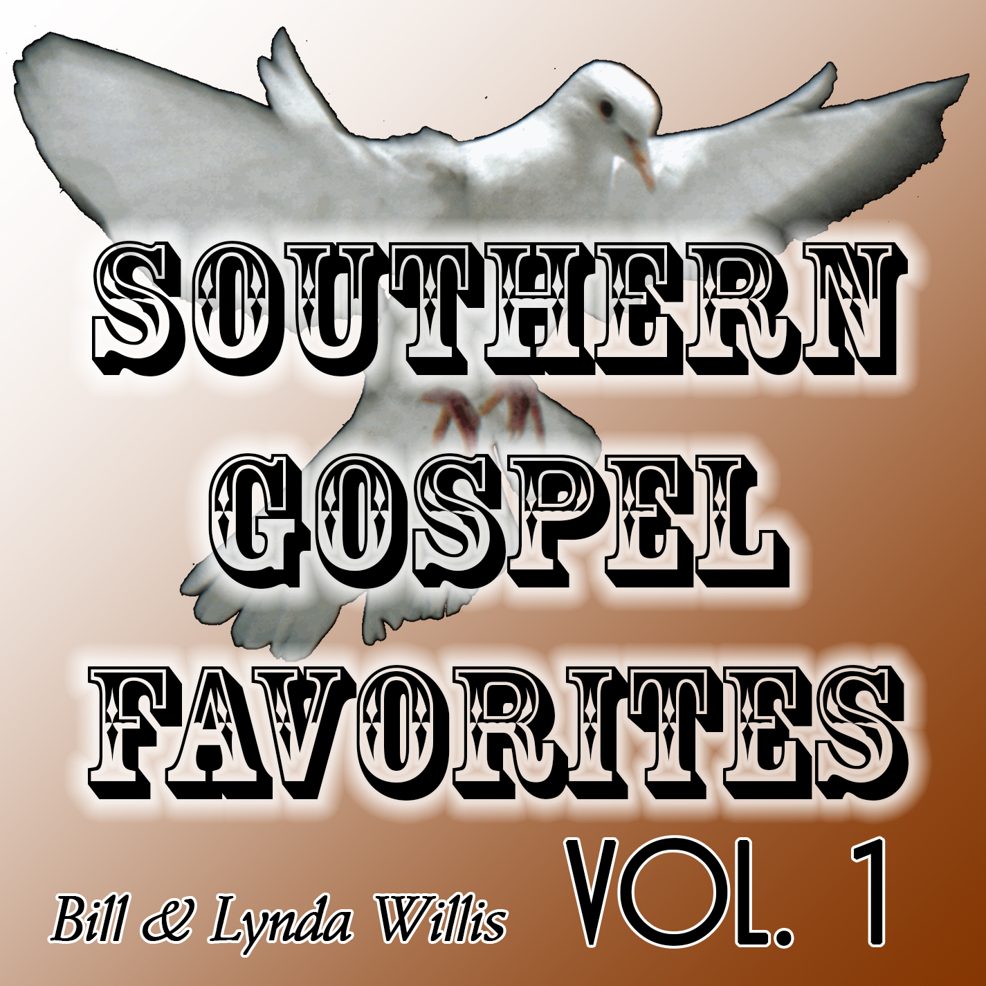 CD Cover Photo - Southern Gospel Favorites Vol 1